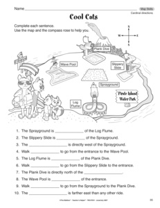 Worksheet Intermediate Directions Worksheet results for directions guest the mailbox social studies worksheet cardinal directions