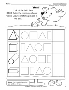 results for identifying solid shapes worksheets  guest  the mailbox by common core label