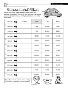 Results for math worksheets | worksheet | 5.NBT.B.5 | Guest - The ...