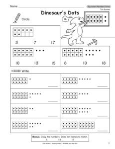 Freebie - Adding 10 Mentally Worksheets ~ 1.NBT.5 by Teacher Gameroom