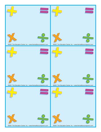 Teacher Ideas & Activities: Word Problems