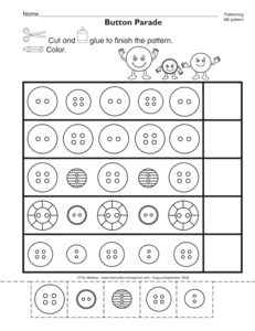math worksheet : results for patterns  kindergarten  worksheet  guest  the mailbox : Ab Pattern Worksheets For Kindergarten