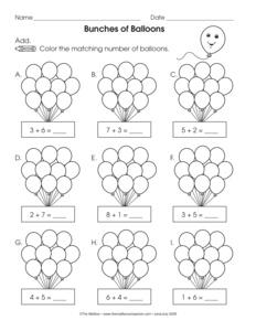 Results for kindergarten math worksheets | Kindergarten | K.OA.A.4 ...