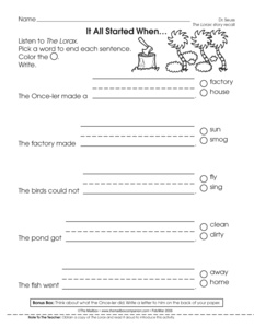 Printables Lorax Worksheets the lorax movie worksheet answers intrepidpath 2016 best and most prehensive