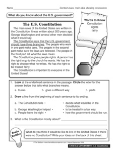 results for constitution worksheet guest the mailbox. Black Bedroom Furniture Sets. Home Design Ideas