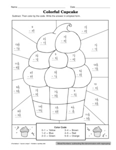 math worksheet : results for subtracting mixed numbers  guest  the mailbox : Add And Subtract Mixed Numbers Worksheet