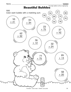 math worksheet : results for all products  math  1 nbt c 4  guest  the mailbox : Two Digit Addition Without Regrouping Worksheet