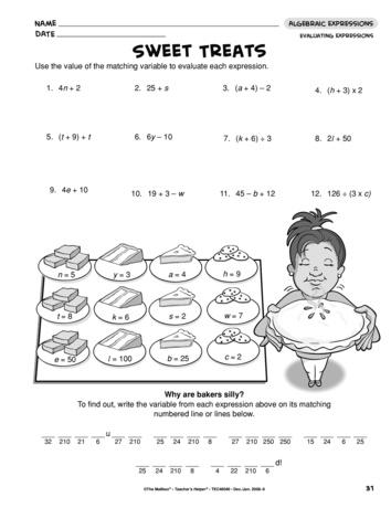 evaluating expressions worksheet 6th grade pdf