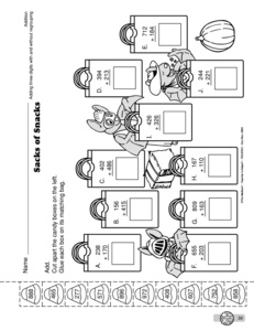 Thanksgiving 5th grade ision worksheets free printable math