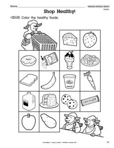 math worksheet : results for nutrition  guest  the mailbox : Kindergarten Nutrition Worksheets