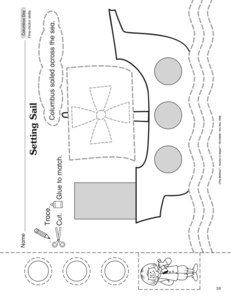 math worksheet : results for columbus day  preschool  guest  the mailbox : Columbus Day Math Worksheets