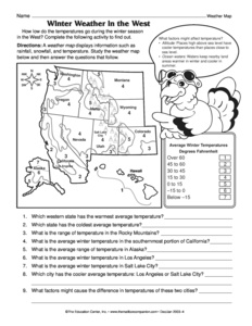 Weather Worksheet New 441 Weather Map Reading Worksheet