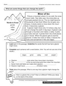 glacier erosion worksheet pictures to pin on pinterest pinsdaddy. Black Bedroom Furniture Sets. Home Design Ideas
