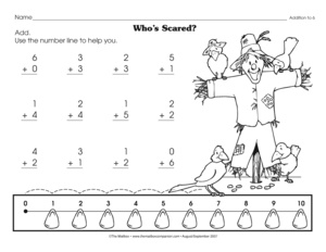 math worksheet : results for number line worksheet  guest  the mailbox : Addition Using A Number Line Worksheet