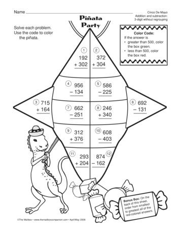 Pre School Worksheets : math subtraction worksheet lesson plan ...