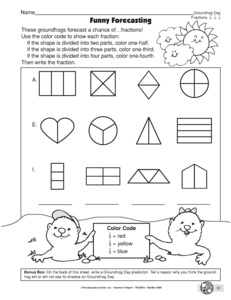 search groundhogs day  the mailbox groundhog day worksheet fractions
