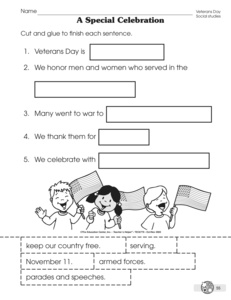 Printables Veterans Day Worksheets results for veterans day guest the mailbox worksheet celebrating day