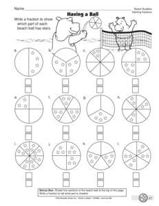 math worksheet : results for math worksheets  3 nf a 1  guest  the mailbox : Naming Fractions Worksheet