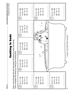 math worksheet : results for math fact families worksheets  guest  the mailbox : Fact Families Multiplication And Division Worksheets