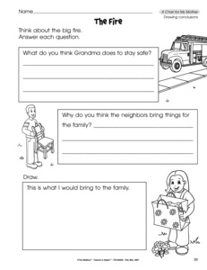math worksheet : results for drawing conclusions  guest  the mailbox : Drawing Conclusions Worksheets For Kindergarten