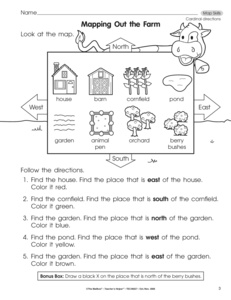 Worksheet Map Skills Worksheet results for map skills worksheet guest the mailbox social studies skills