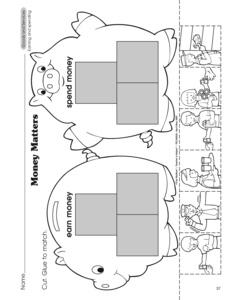Goods and services worksheet kindergarten