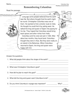 Worksheets Emancipation Proclamation Worksheet results for reading comprehension social studies guest the columbus day worksheet comprehension