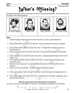 Worksheets Early Explorers Worksheets european explorers worksheets abitlikethis pin early on pinterest